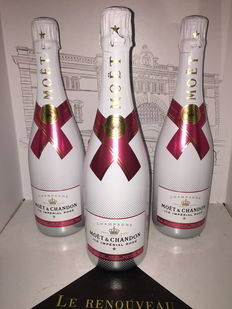 Moet & Chandon Ice Impérial Rosé Champagne - 3 bottles (75cl)
