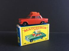 Lesney Matchbox - Unknown scale - Fiat 1500 No.56, scarce color variation