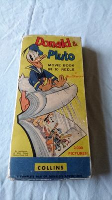 Disney, Walt - Donald & Pluto movie book - 2000 pages - hc  (1939)