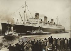 Inconnu/AP - RMS Queen Mary - 1936