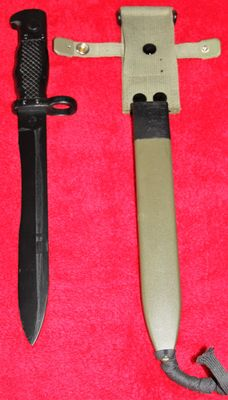 Bayonet FR 8 for Cetme C, Spain, maker: Toledo Steel, in new condition - 20th century