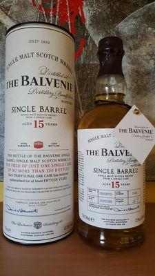 Balvenie 15 years old Single Barrel - Discontinued