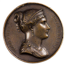 France – 'Emperor and King Napoleon and & Empress and Queen Josephine' by Andrieu – Copper.