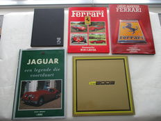 Lot of 5 exclusive car books