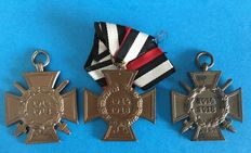 Combatant's Honour Crosses with Swords
