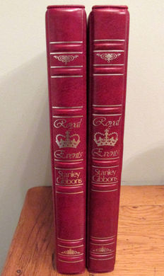British Commonwealth - Collection in two Stanley Gibbons Albums of Queen Mother 85th Birthday Stamps