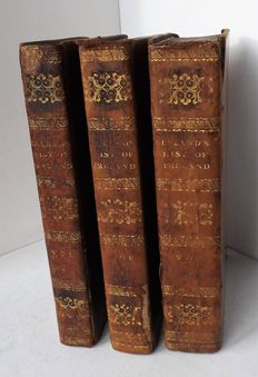 Thomas Leland - The History of Ireland - 3 Volumes - 1814