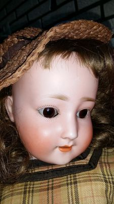 Antique doll - Schoenau & Hoffmeister - PB in star - 1909 - 6 - Germany