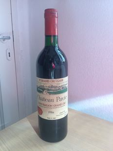 1986 Château Pavie  1er Grand Cru Classé A Saint-Émilion – 1 bottle in total