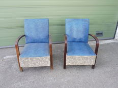 Designed unknown – Two vintage armchairs