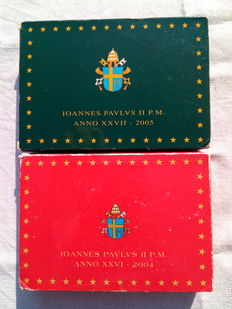 Vatican - proof cases 2004 and 2005