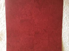 20 rolls of Andrew Martin Alchemy Red wallpaper. In new condition