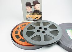 16 mm sound film of Stan Laurel & Oliver Hardy, compilation of various films