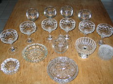 Crystal and glass collection