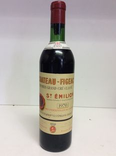 1970 Chateau Figeac Premier Grand Cru Classe, Saint-Emilion , France, 1 bottle 0,75l