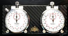 Hanhart - ClassiKnau - Vintage watches set for classic rallies with HANHART timer