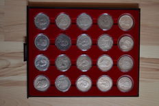 German Empire - collection of 5 Mark (20 pieces)