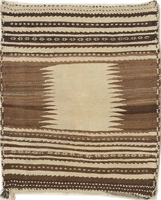 Handwoven antique kilim – 110 x 90 – south Iran – 50-80 years old