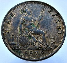 United Kingdom - Penny 1879 Victoria