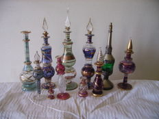 Lot of 11 perfume bottle of Egypt