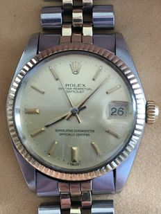 Rolex Datejust men's timepiece, steel/gold