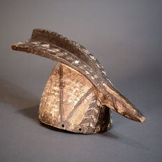 African Tribal MOSSI Rooster Mask Wan-Noraogo-Ouagad. Burkina Faso.