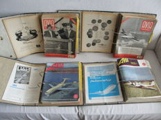 139 magazines of Avia airline world 1955 to 1966