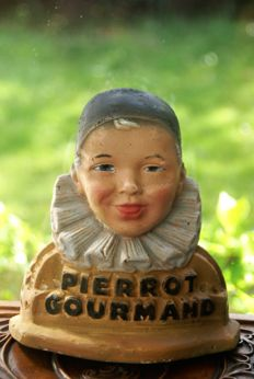 Pierrot Gourmande - Art Deco counter display for lollipops