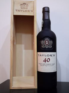 40 year old Tawny Port Taylor's - bottled in 2013