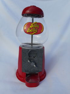 "Vintage candy machine or gumball machine ""Jelly Belly"""