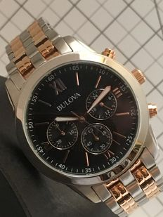 Bulova — Luxury Sports Chronograph - 2017 - unworn, in mint condition — Men's wristwatch