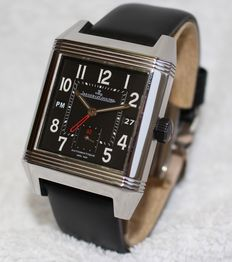 Jaeger LeCoultre Reverso Squadra Hometime Automatic Big - men's watch - 2010's year