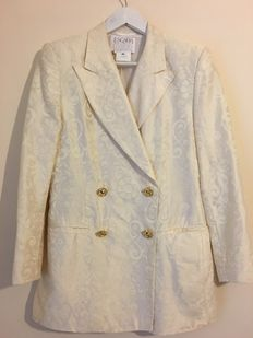 Escada Couture - Suit jacket & skirt 90s
