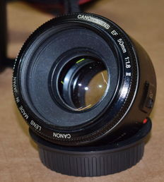 Canon EF 50mm 1.8 II objective