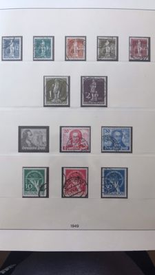 Berlin 1948 - 1973 MNH and cancelled
