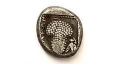 Greek Antiquity - Cilicia, Soloi. 425-400.  AR Stater /  Amazon-bunch of grapes.