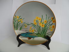 Franklin Mint - Japanese wall plate - hand painted