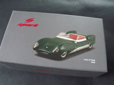 "Spark - 1/18 scale - Lotus XI ""eleven"" 1958  Racing Club"