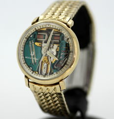 Accutron - Gold Plated Manual Winding Vintage Gents Wristwatch c.1970