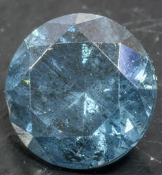 0.43 ct Blue Diamond ** no reserve **