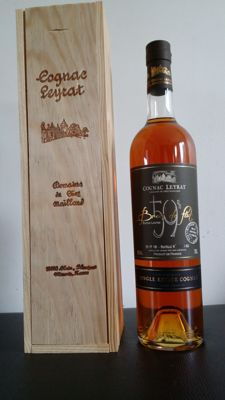 Cognac Leyrat - Cask Strength - Fins Bois Single Estate Cognac