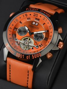 "Calvaneo 1583 — Astonia ""Project Orange"" Complication LIMITED EDITION — men — 2011-today"