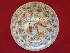 A large Blood & Milk dish with the Romance of the Western Chamber - China - Kangxi period (1662-1722)