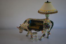 MacKenzie - Childs for Cow Parade - A Study in Still-Life - Extra Large XL - retired, rare.