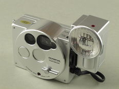 "Olympus O Prod, ""cult camera"" from 1988."