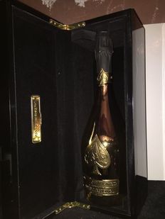 Armand de Brignac Ace of Spades Gold Brut, Champagne - 1 bottle (75cl) with the original collectors case
