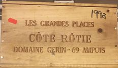 1998 Jean-Michel Gerin, Côte Rotie Les Grandes Places - 6 bottles (75cl) in OWC