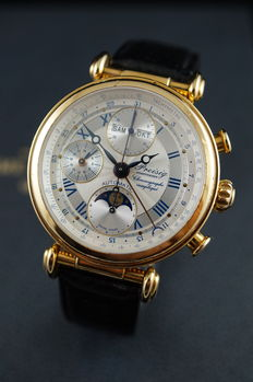Preisig Schaffhausen - Triple Moonphase Chronograph - Men's