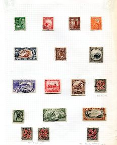 New Zealand 1935/1985 - collection on 186 album leaves including many definitive sets and Health mini-sheets.