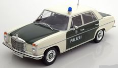 MCG Models - Scale 1/18 - Mercedes-Benz 220/8 (W115) Polizei - Colour: Green / White